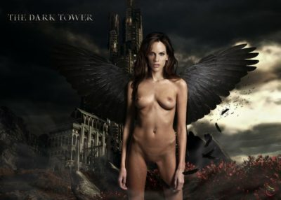 Hilary Swank posing fake nude form the Dark Tower