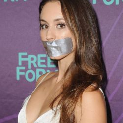 Troian Bellisario tape gagged